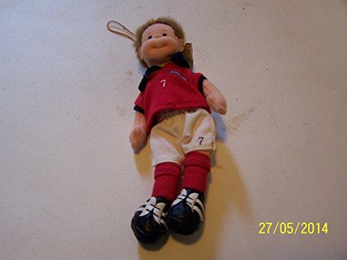 Ty Teenie Beanie Doll - Footy (Footie) - 1