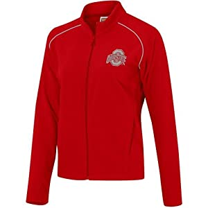Nike Ohio State Buckeyes Scarlet Ladies Chill Out Mircro Fleece Jacket