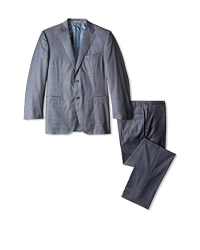 Canali Men's Windowpane Suit