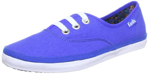 Keds Rookie Neon Trainers Womens Blue Blau (neon blue normal) Size: 3.5 (36 EU)