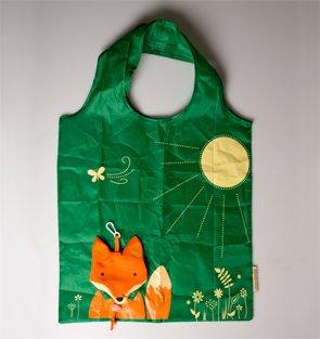 fox-fold-away-reusable-shopping-bag