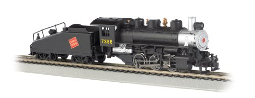 Bachmann Industries Usra 060 Locomotive With Smoke And Slope Tender Canadian National #7356 Ho Scale Train Car front-189181