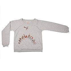 NeedyBee SUPERHERO Kids T-Shirt Soft Organic Cotton Long Sleeve Baby Boys and Baby Girls Sweat Shirt for 2 - 9 Years