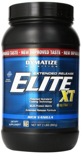 Dymatize Elite Xt Dietary Supplement, Rich Vanilla, 2 Pound