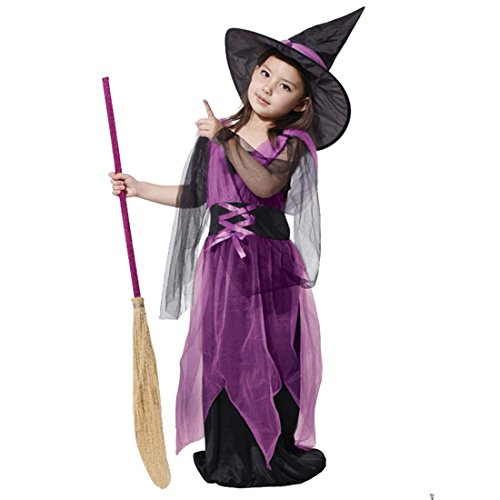 Cozy Age Girls' Fairytale Witch Costumes