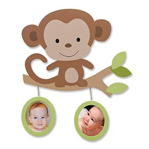Koala Baby 2 in 1 Wall Frame Decor-Monkey - 1