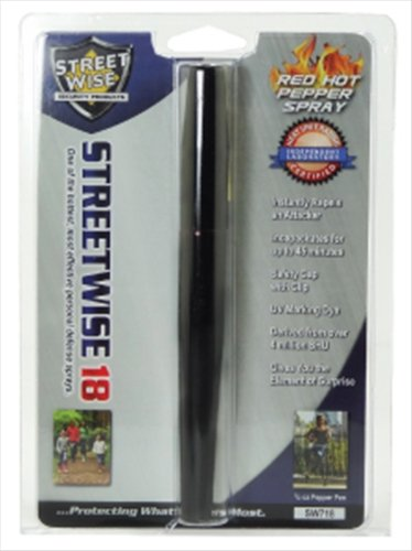 1 /2 oz. 17% Streetwise Pepper Spray Pen