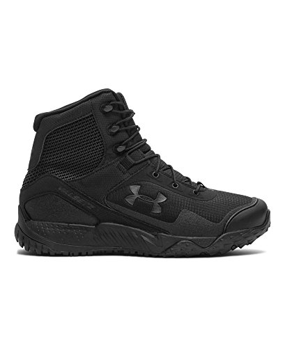 Under Armour Men's Under Armour Men's Valsetz RTS - mid Boot, black/black, 10 Medium US