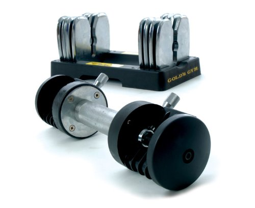 Golds Gym GG-V693200 Transformer Dumbbell - 20-Kilograms