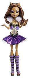 Monster High Its Alive Clawdeen Wolf Doll