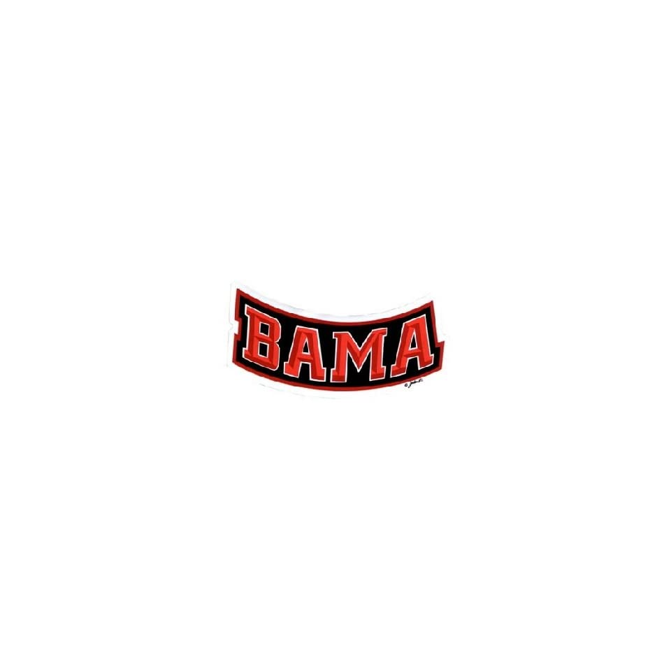 NCAA Alabama Crimson Tide Car Magnet Bama Small, 2 Pack