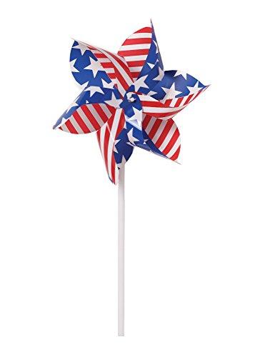 Creative Converting 12 Count Pinwheel, Patriotic