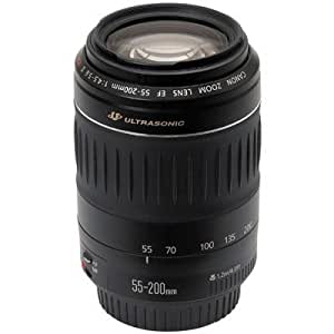 Canon EF Téléobjectif Zoom 55 / 200 mm f/4.5-5.6 II USM
