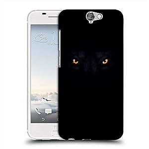 Snoogg Lion eyes dark black Designer Protective Back Case Cover For Asus Zenfone 6