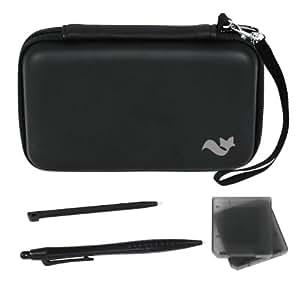 Pack accessoires 5 en 1 de transport pour Nintendo 3DS XL - noir