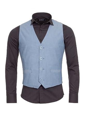 modische herren stoff weste anzug schwarz wei grau. Black Bedroom Furniture Sets. Home Design Ideas
