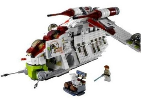 Lego ( Lego ) - Star Wars ( Star Wars ) Republic Gunship block toys ( parallel imports )
