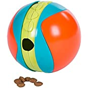 Outward Hound 41017 Treat Chaser Dog Toy, Large, Multicolor