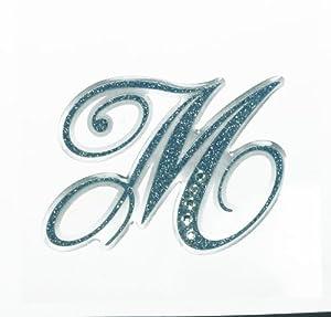 Amazon.com: Letter M Sticker - Tattoo It Laptop Stickers