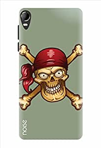 Noise The Pirates Grill Printed Cover for Micromax Canvas Fire 2 A104