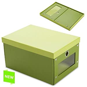 ... - Scatola pieghevole verde 43,5X30,5X21 CM: Amazon.it: Casa e cucina