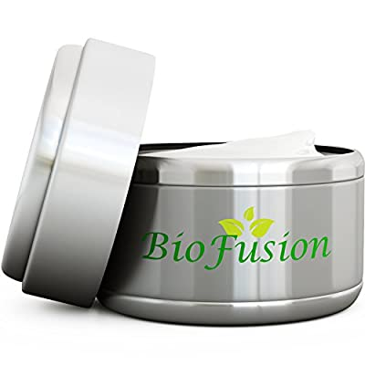 Cheapest Advanced Natural Eye Cream for Dark Circles and Puffiness Repair 15ML - For Sensitive Skin Protection - Pure Ingredients + Antioxidant Peptide Complex - Wrinkle Reducer Anti Aging for Women and Men by Biofusion - Free Shipping Available