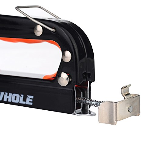 GWHOLE 3-in-1 Heavy Duty Stainless Steel Staple Gun, 600 Staples Attached