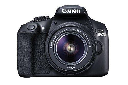 Canon EOS 1300D 18MP DSLR Camera w/18-55mm Lens