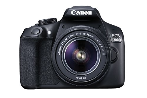 Canon-EOS-1300D-EF-S-18-55mm-187MP-CMOS-5184-x-3456-Pixels-Black-International-Version-No-Warranty