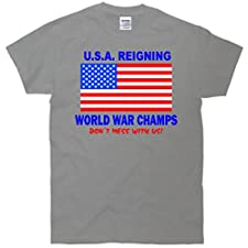 U.S.A. Reigning Back To Back World Champs T-Shirt