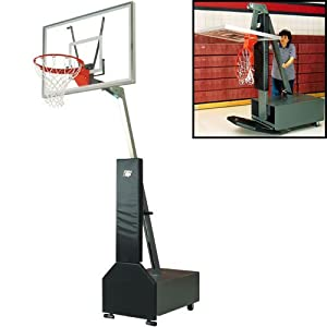 Club Court Acrylic Port Adjustable Systm - Basketball by Bison