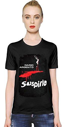 Suspiria Blood Dance T-shirt donna Women T-Shirt Girl Ladies Stylish Fashion Fit Custom Apparel By Slick Stuff Small