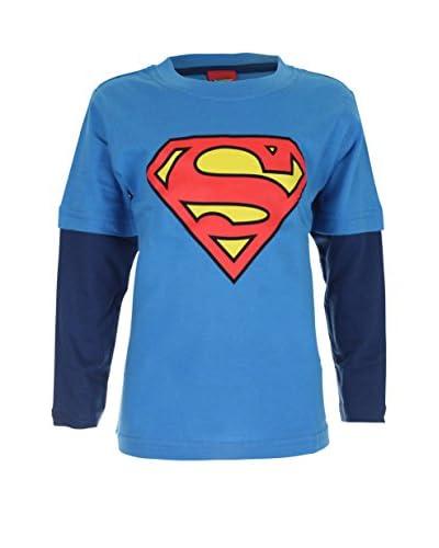 DC COMICS Longsleeve Superman Logo