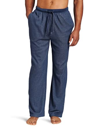 Tommy Bahama Men's Vintage Waffle Knit Pant, Navy Heather, Medium