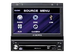 Audiovox VME 9114 TS Moniceiver (17,8 cm (7 Zoll), Touchscreen, DVD±R/RW, RDS, USB 1.1) ab 189,99 Euro inkl. Versand