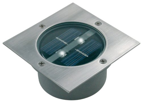 5000.198 LED Solar Bodeneinbaustrahler, 4-eckig