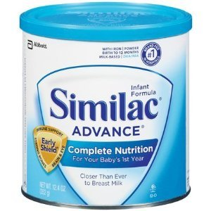 Similac Advanced Infant Formula Complete Nutrition w/Early Shield - 6/12.4oz. Cans