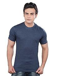 Mens Mustee Tshirt Navy Melange (M)
