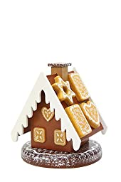 German Incense Smokers Gingerbread House - 13cm / 5 inch - Christian Ulbricht