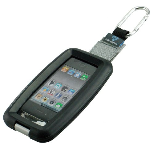 Wci Quality Waterproof Case With Headphone 3.5Mm Jack Output And Luggage Hook