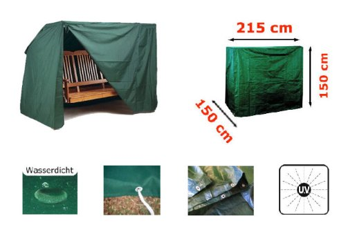 Protective Cover with Zip Closure for Garden Swing