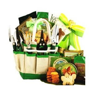 SCHEDULE YOUR DELIVERY DAY! Gourmet Gardener Gift Tote Snack Gift Basket