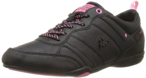 Kappa Women's Pralilu Trainers Black Noir (Black/Pink) 6.5 (40 EU)