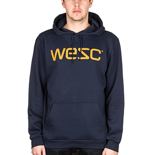 Felpa da uomo modello-shirt WeSC, Blu Iris, S, F401728795