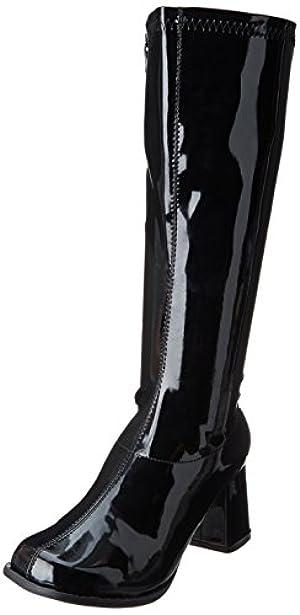 Ellie Shoes Women's Gogo Rain Boot, Black, 12 M US