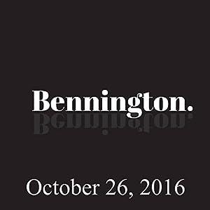 Bennington, Sebastian Maniscalco, October 26, 2016 Radio/TV Program