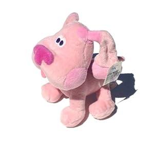 Amazon.com: Blue's Clues Magenta Plush: Toys & Games
