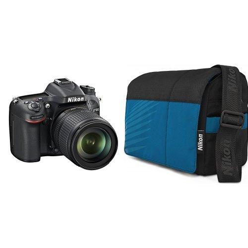 Nikon-D7100-Fotocamera-Reflex-Digitale-241-Megapixel-LCD-da-3-Pollici-ISO-6400-SD-8GB-Premium-Lexar-180X-Nital-card-4-anni-di-garanzia