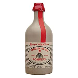 Pommery Aged Red Wine Vinegar in stone crock bottle 16 oz