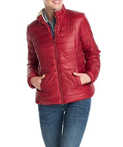 EDC Women - Giacca, Donna, Rosso (Rot (SUN DRIED TOMATO 628)), XS